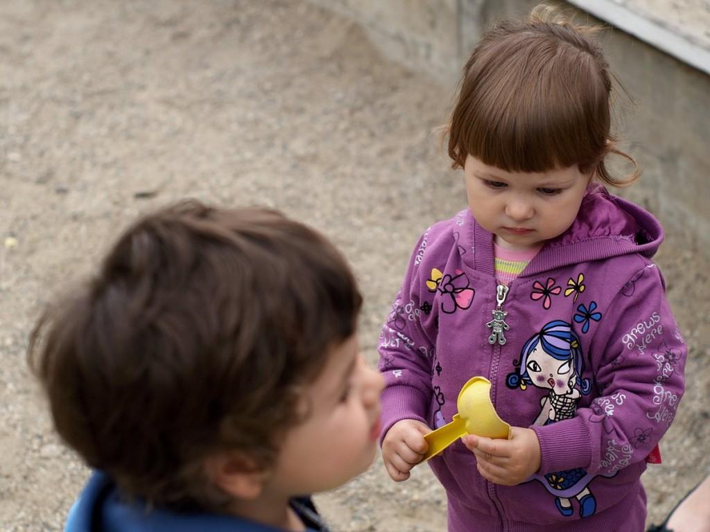 Нана и лопатката