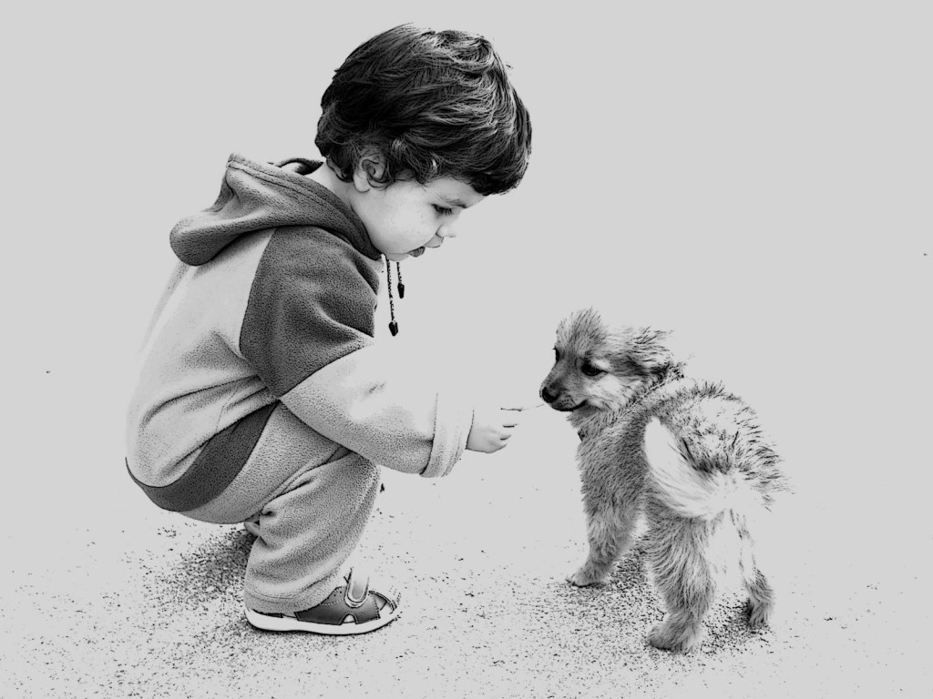 Alex and doggy