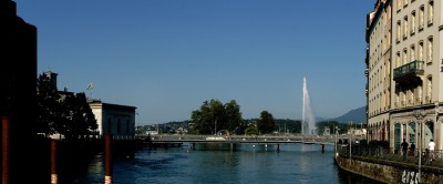 Jet d'Eau in Summer