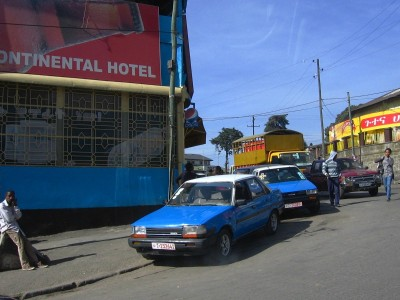 taxies in Addis