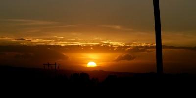 sunset, Ethiopia