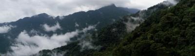 панорама гора