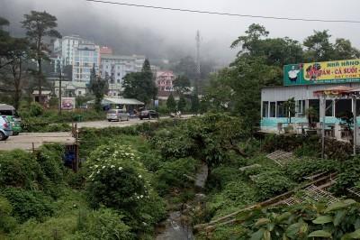 градчето в мъгла
