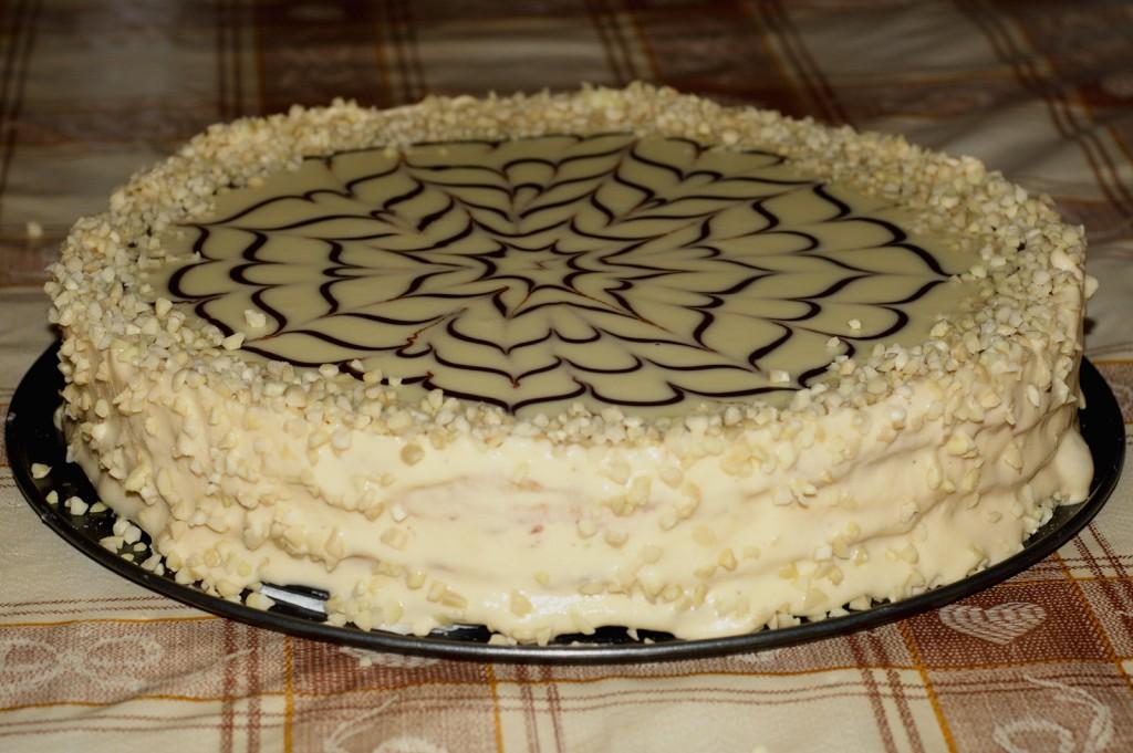 """Бадемова торта """"Шведска принцеса"""""""